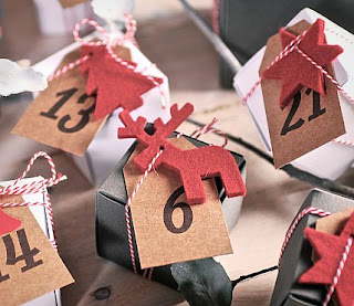 calendarios de adviento originales, calendarios de adviento bonitos, cómo hacer un calendario de adviento, selfpackaging, self packaging, selfpacking