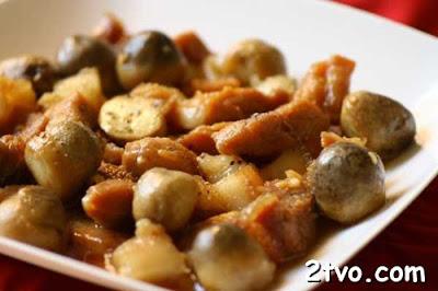 Cách làm thịt kho hạt dẻ