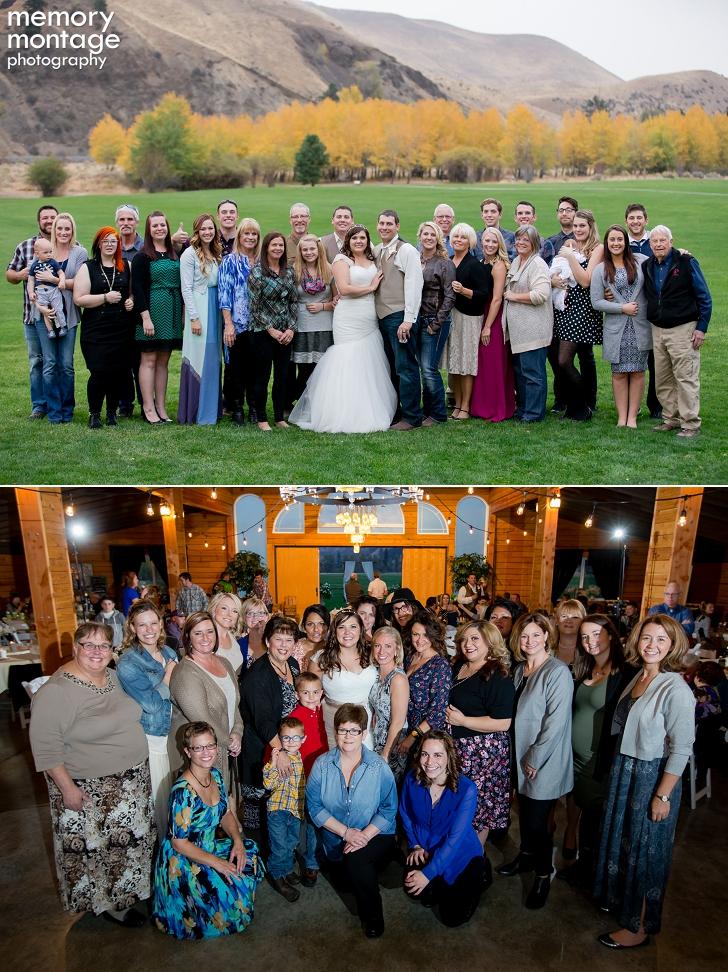 American Homestead Weddinng, Fall Wedding at American Homestead, Yakima Wedding Photography, Yakima Photographers, Fall country wedding, Mason jar chandelier, Memory Montage Photography, www.memorymp.com