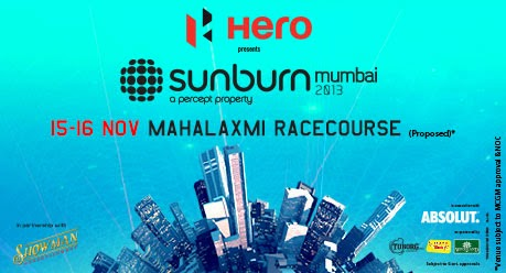 Sunburn Mumbai 2013 – Day 1 LIVE