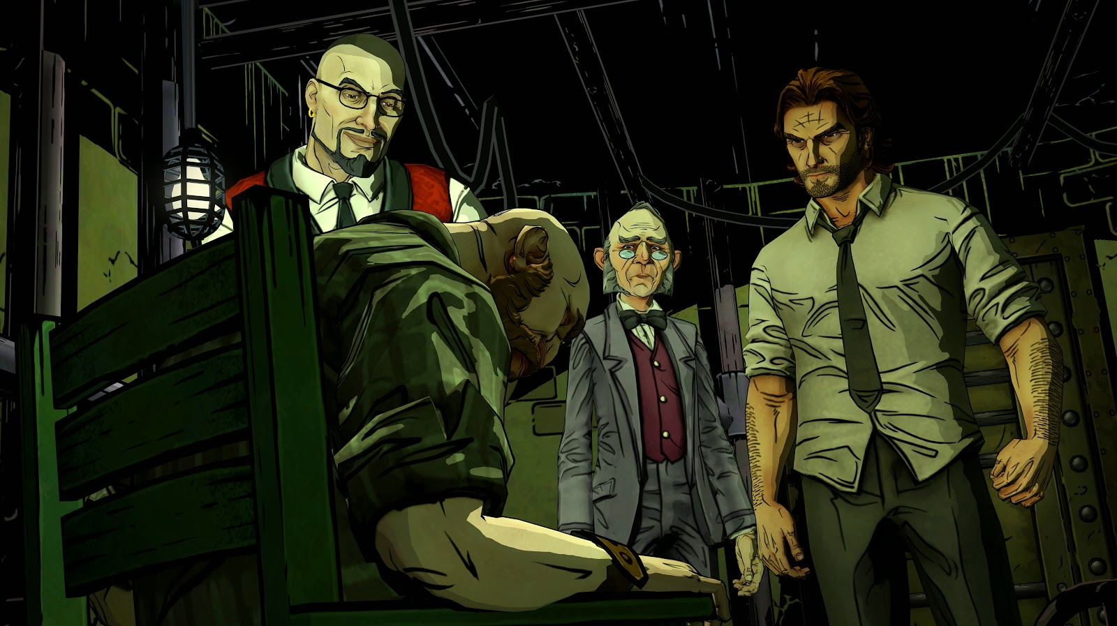 Game PC The Wolf Among Us
