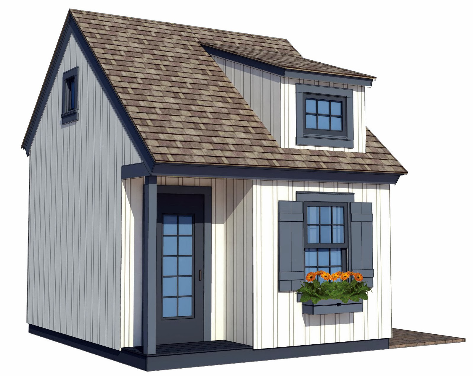 Aplaceimagined traditional playhouse plans for Free playhouse blueprints