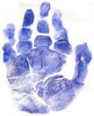 A mãozinha da Diovanna...