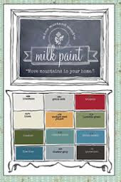Here now! The entire line of MISS MUSTARD SEED paint!  Click photo to link to painting tutorials~