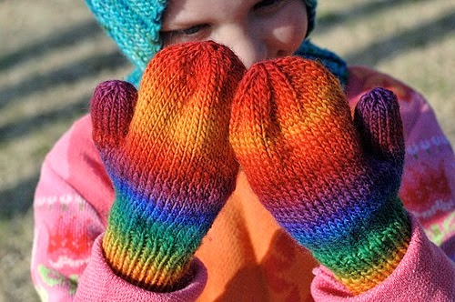 Basic pattern for childrens mittens