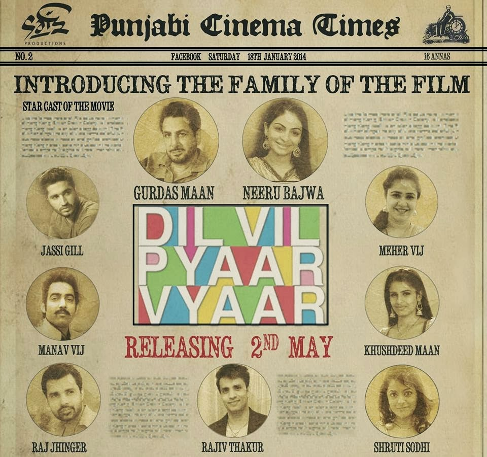 Dil Vil Pyaar Vyaar Movie