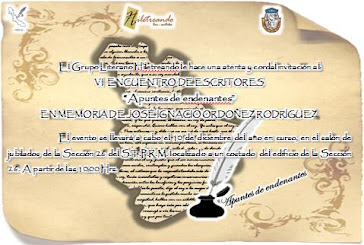 """5° Encuentro de escritores """"Apuntes de endenantes"""""""