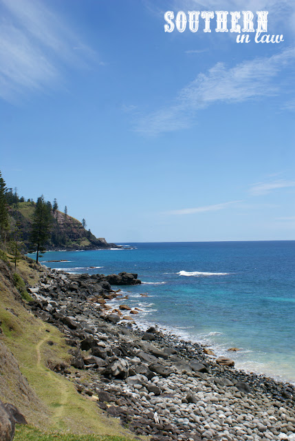 The View from Cascade Pier Norfolk Island