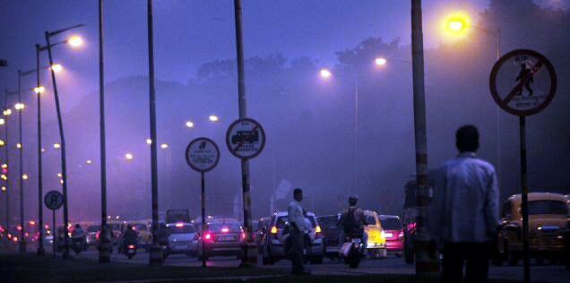 KOLKATA BLOG: Winter Night Of The City