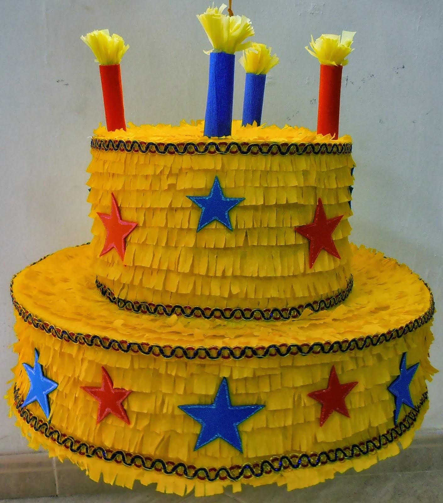 Pi atas tarta de cumplea os - Pinatas de cumpleanos ...