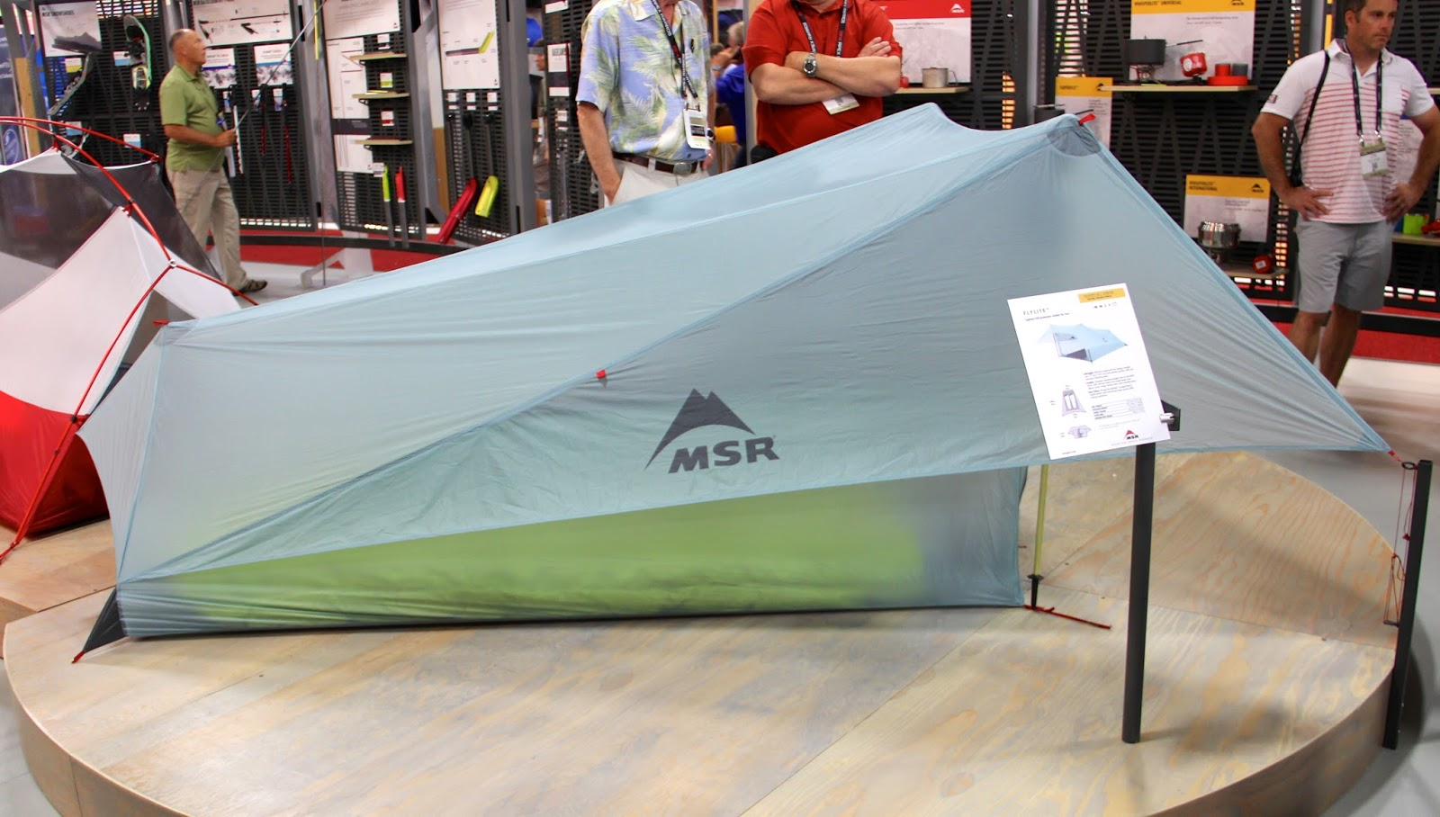 Lightest full-protection shelter for one or two humans this ultra minimalist tent clocks in at lb.9oz-pitches quickly with two trekking poles-earning MSRu0027s ... & LYRA MAG.: GEAR Fast SETs-Up+ BREAKs Down-Outdoor Retailer SS/2014