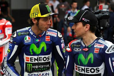 Libur Balap, Yuk Intip Kesibukan Rossi - Lorenzo