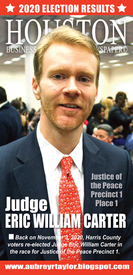 Our client Judge Eric William Carter defeated his Republican challenger on November 3, 2020