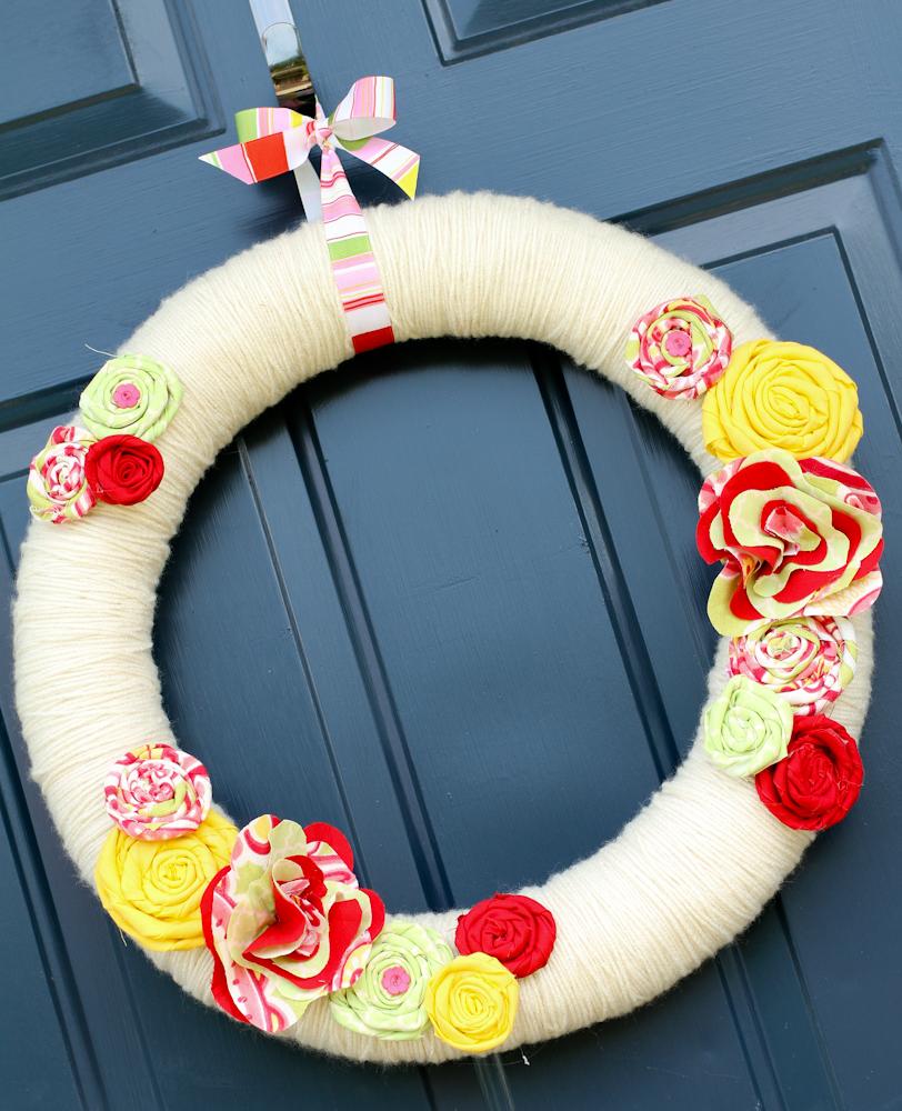 Summer front door wreaths - Decorating For Summer Front Door Wreath