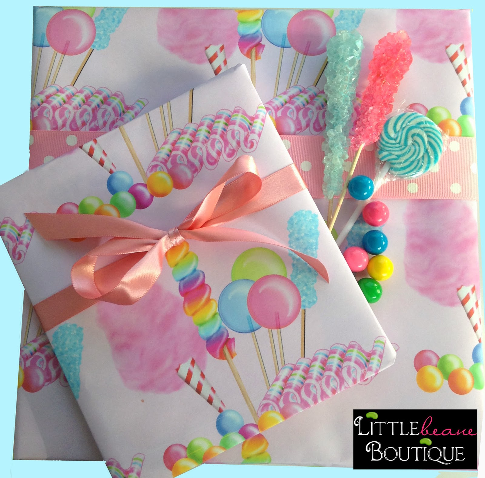 littlebeane boutique new custom gift wrap