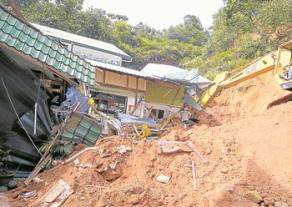 Rumah Anak-anak Yatim tanah runtuh