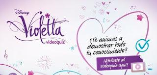 Participa del NUEVO Videoquiz de Violetta y demuestra que tanto sabes ...