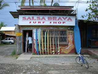 Lovely Travel of a Nomadic Dad Travel The World RTW -family Travel with kids Salsa Brava in Costa Rica