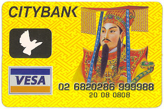 Chinese joss paper credit card