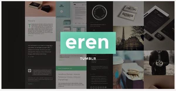 Minimal Portfolio Theme For Tumblr