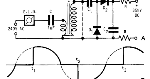build a high volt supply wiring diagram schematic