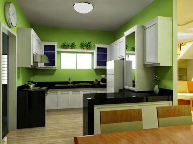 Interior Dapur Rumah Kecil