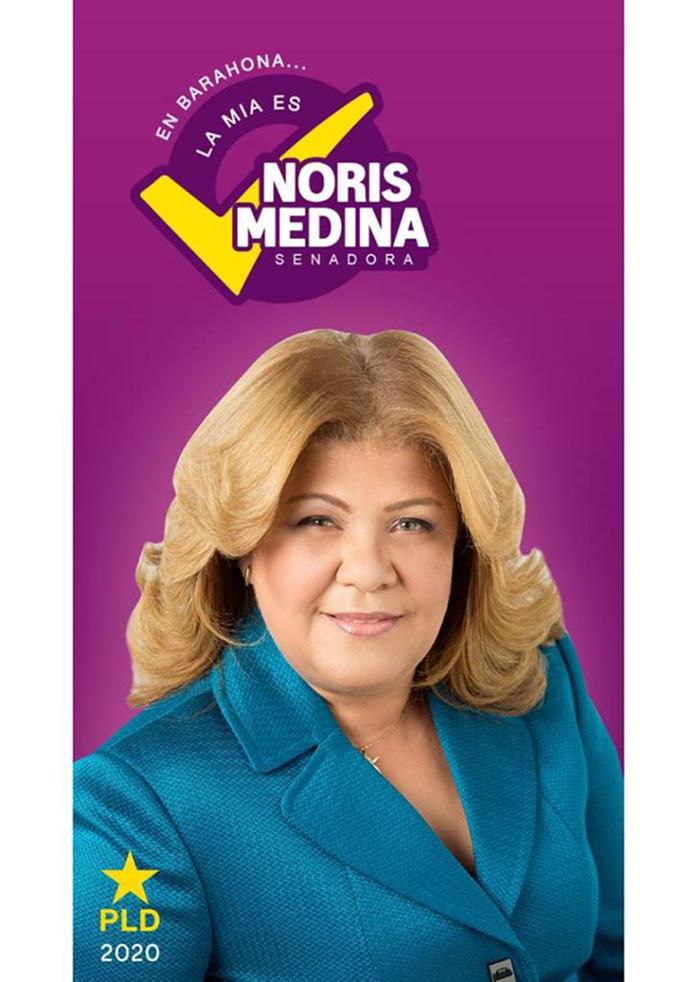 NORIS MEDINA SENADORA PLD BARAHONA 2020-2024