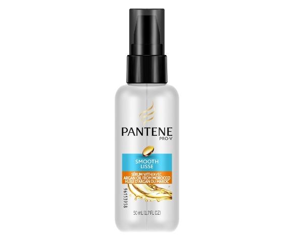 Pantene Smooth Serum with Argan Oil