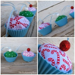 Cup Cake Ornament