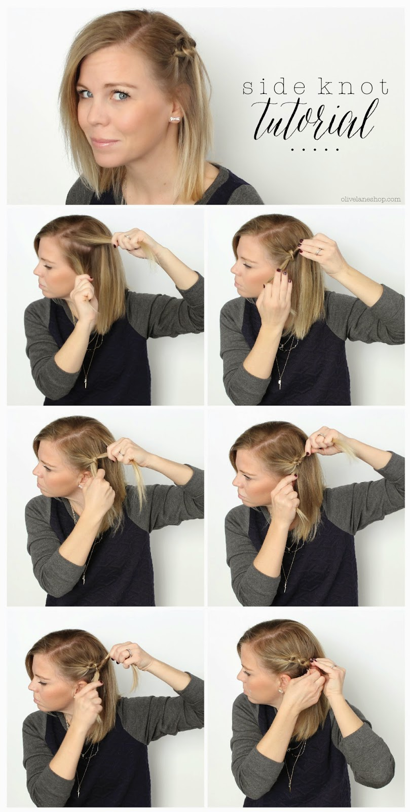 this is one of my favorite quick easy hairstyles for short hair