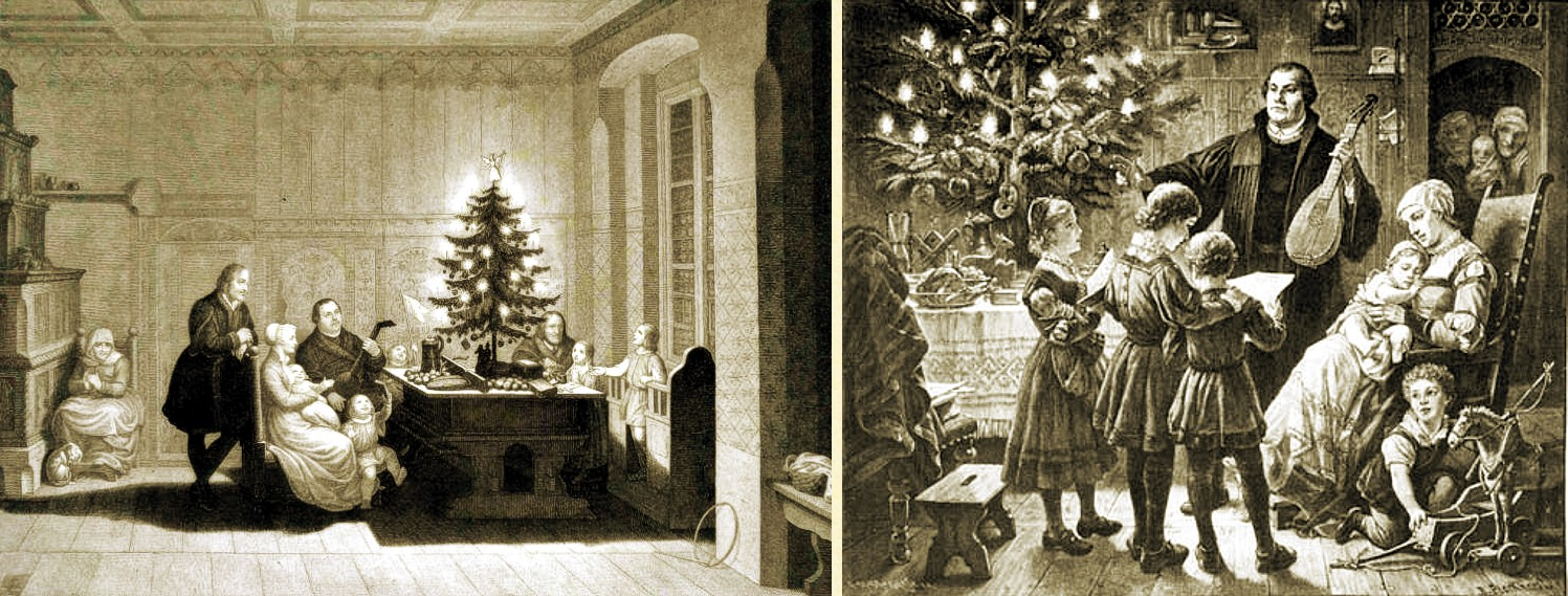Martin Luther Family Christmas