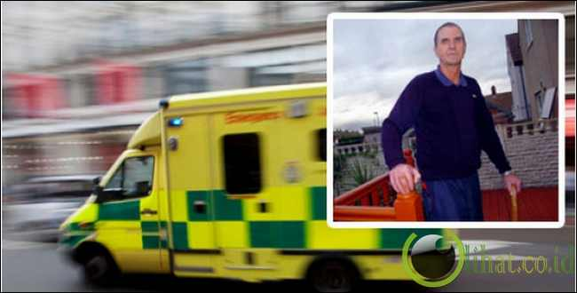 Pria Inggris ini mengalami 16 kali kecelakaan