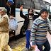 Αφήνουν στο κέντρο της Αθήνας τους κρατούμενους της Αμυγδαλέζας