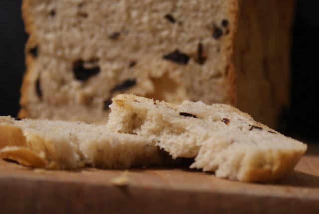 chleb,Symbio,suszone wiśnie,słodki chleb