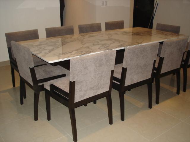 Makare muebles e interiores comedores for Comedores marmol para 8 sillas
