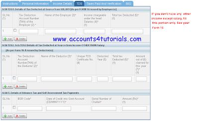 income tax form receipt status