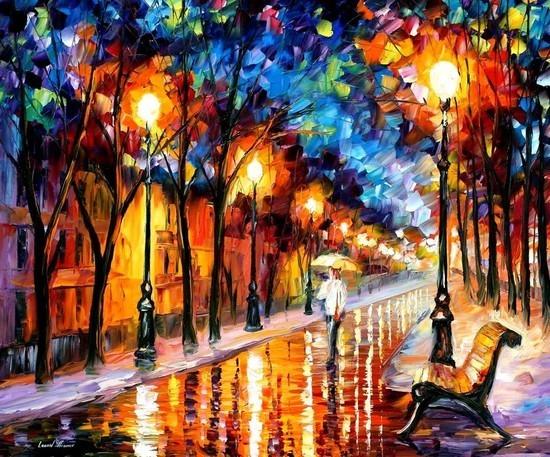 Impresionante colección de pinturas abstractas - Por el Amor del Art-E