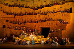 The Royal Opera in Act 3 of Les Troyens