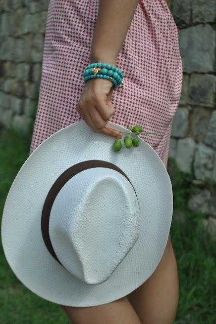 bracciali majique cappello panama accessori estate 2015 bracciali estivi fashion blog italiani summer bracelets oceanic jewellers colorblock by felym