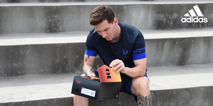 Presentados los botines adidas Messi 10/10