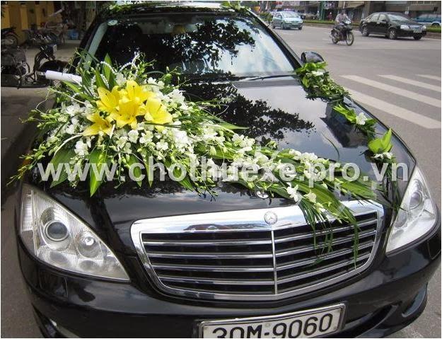 Hoa xe cưới Lan Ly 1,2 triệu XH 028