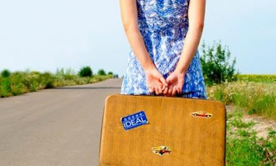 Dating After Divorce? 3 Mistakes to Avoid - woman traveling road bag