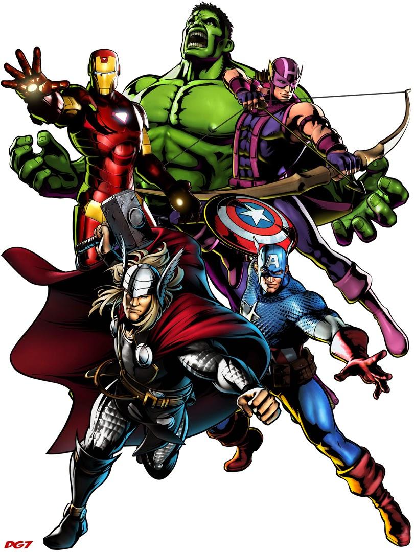 Gambar Avenger Assemble