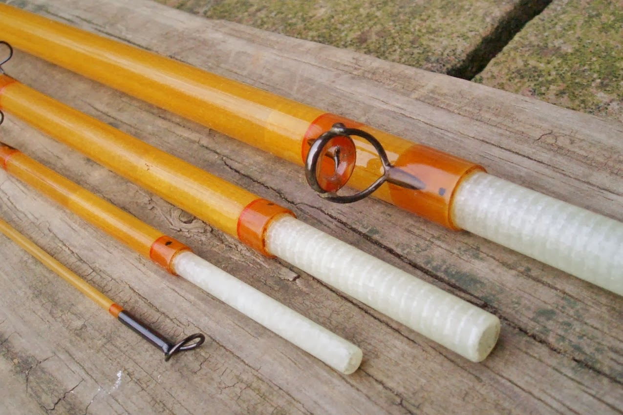 The fiberglass manifesto william a harms custom glass rods for Glass fishing rods