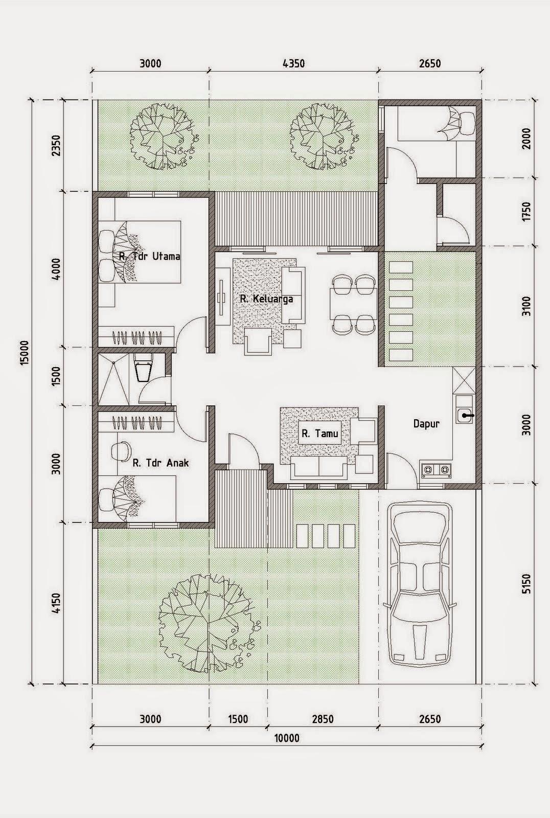 Gambar Design Model Rumah Minimalis Modern Type 70 Rumah