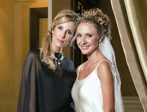 Hair styles: Bride