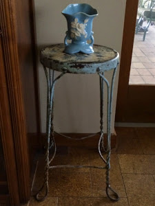 Simple Blue Vase