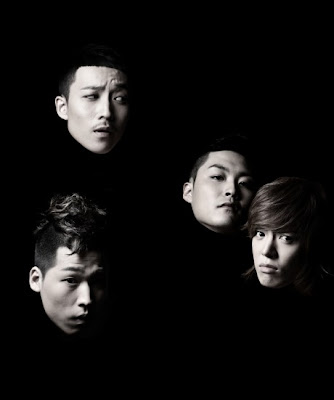 M.I.B members Cream, 5Zic, SIMS, and Kangnam