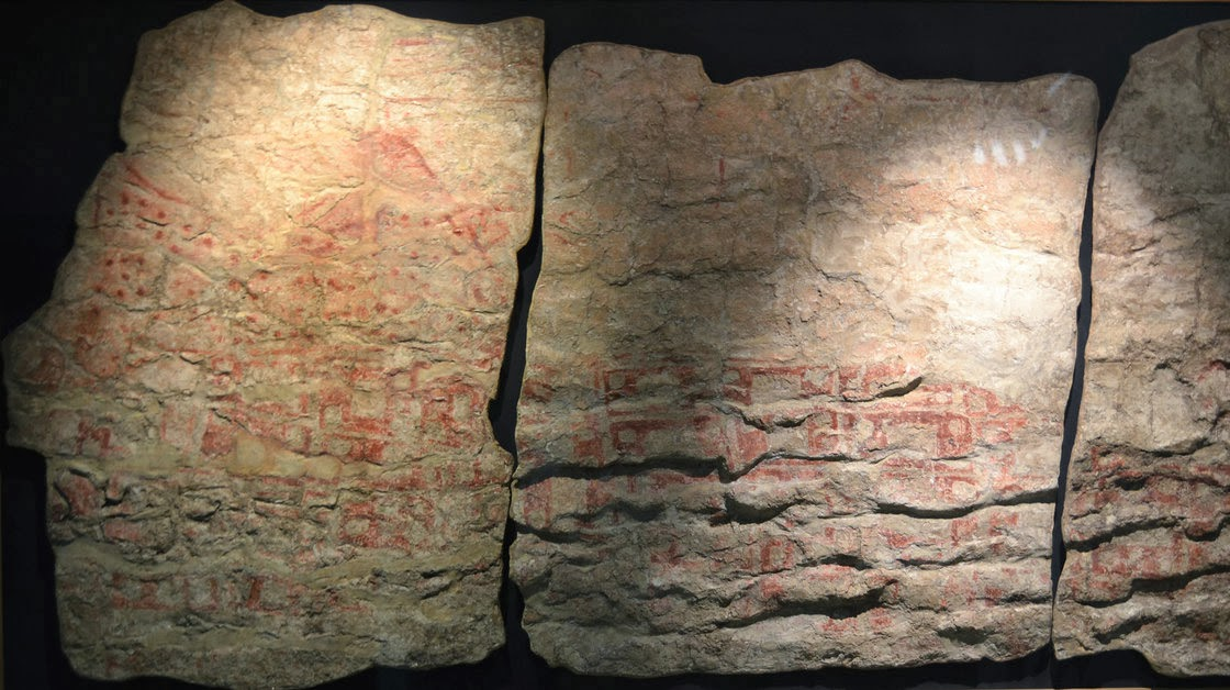 More on Ancient mural may be first picture of volcanic blast