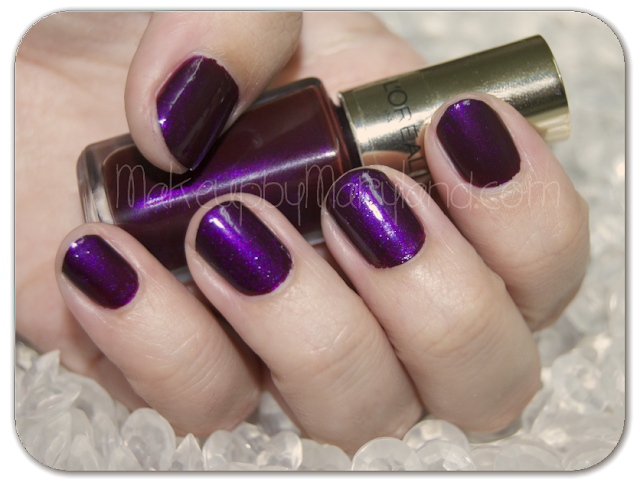 loreal-l'oreal-le-vernis-502-purple-disturbia-rebel-blue-shocking-pink-swatches-pincel-plano-7-dias-duracion-intacto